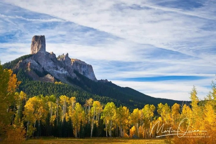 Chimney Rock Autumn