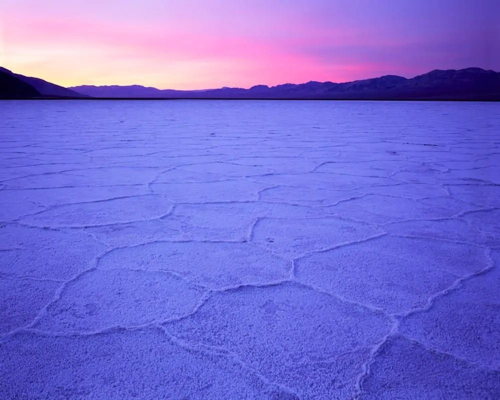 Salt Flat Sunrise