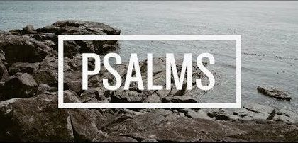 Coming Up on Sundays... The Psalms