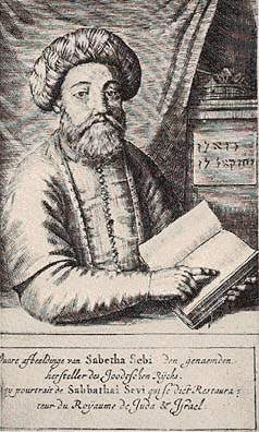 Sabbatai Zevi, fundador de la secta Sabatea