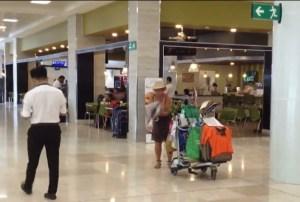 Turista alemana vive desde hace 4 meses en aeropuerto de Cancún