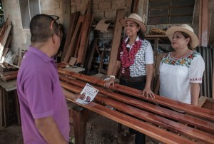 Bacalar será la base de distribución para el turismo en la Zona Sur del Estado, Marybel Villegas