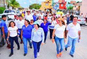 La gente es el eje central de las propuestas: @GabyPallares