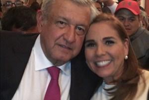 Desde #Cancún , nos reunimos a la transformación de #México : @MaraLezama