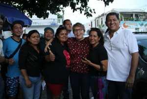 @LauraBeristain escuchó #propuestasciudadanas de vecinos de la #ColoniaColosio