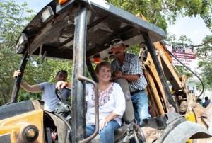 @LauraBeristain trabajará en abatir el rezago en infraestructura que persiste en el municipio