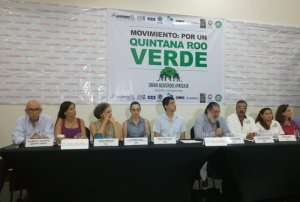 "Nace en #Cancún ""Por un #QuintanaRoo Verde"""