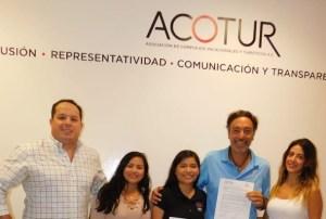#ACOTUR firma convenio con #SoñarDespierto