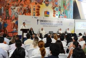 Inicia el Primer Encuentro Nacional de Transparencia Legislativa