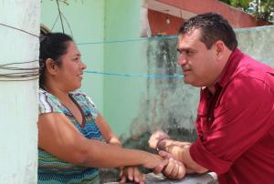Respaldo popular a Edgar Gasca en Zona Continental