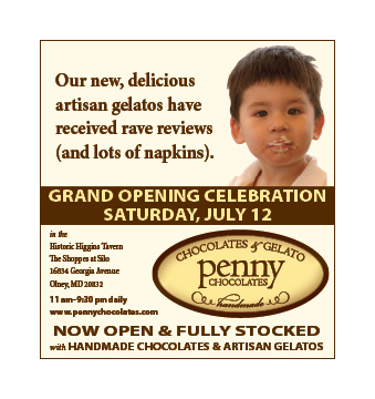 pennychocolates Wahington Post advertisement
