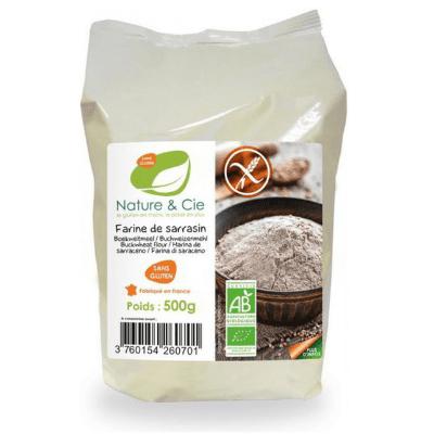 Harina de trigo sarraceno Nature & Cie 500 g