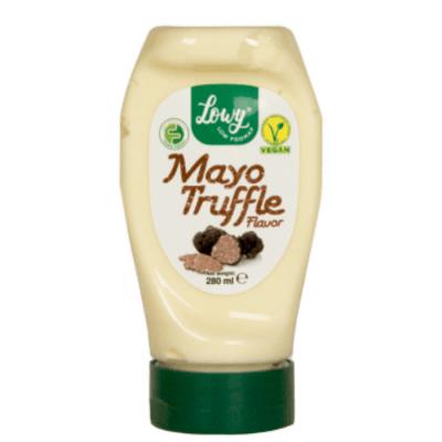 mayonesa vegana con sabor a trufa