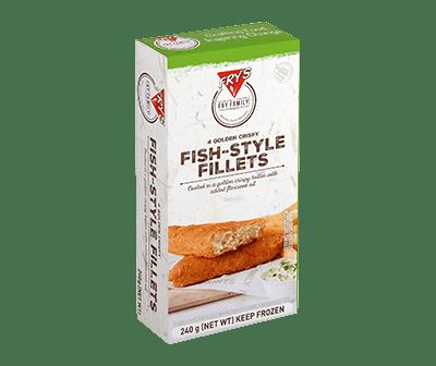 Sustituto de pescado en tempura Fry´s 240 gramos