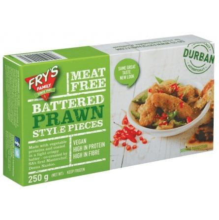 Langostinos veganos de soja crujientes Frys 250 gramos