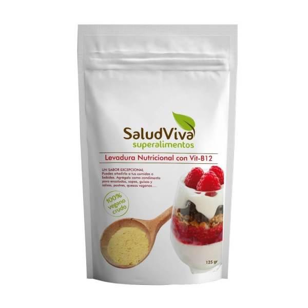 Levadura nutricional con B12. Salud Viva 125 gramos
