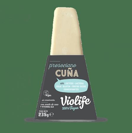 Queso parmesano vegano en bloque Violife 150 gramos