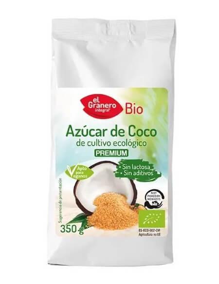 Azúcar de coco bio El Granero Integral 350 gramos