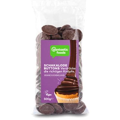 lágrimas de chocolate vegano