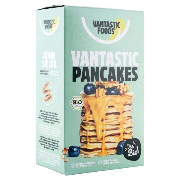 Pancakes veganos orgánicos Vantastic 180 gramos
