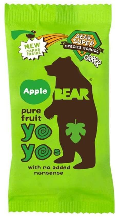 Bear yoyo caremelos veganos de manzana
