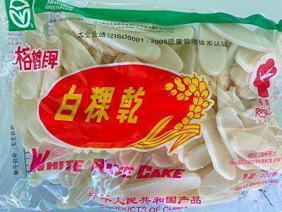 Lenguas de arroz sin gluten