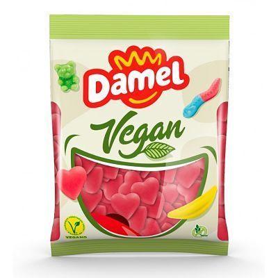 chuches veganas con forma de corazón