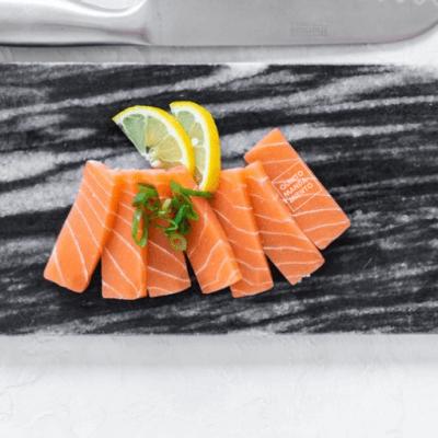 sashimi de salmón vegano