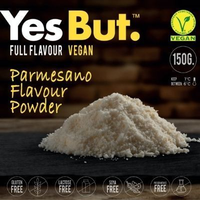 queso vegano tipo parmesano rallado