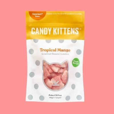 Chuches veganas sabor mango candy kittens
