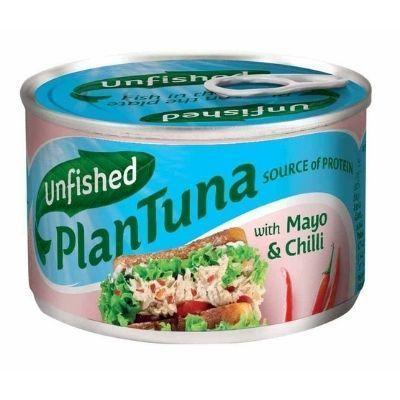 atún vegano en coserva con mayonesa picante Unfished Plantuna