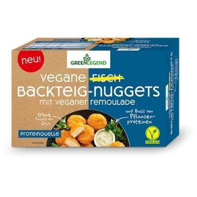 nuggets de pescado vegano Green Legend