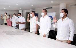 «No vienen a improvisar»: advierte Luis Alberto Monsalvo a seis nuevos funcionarios