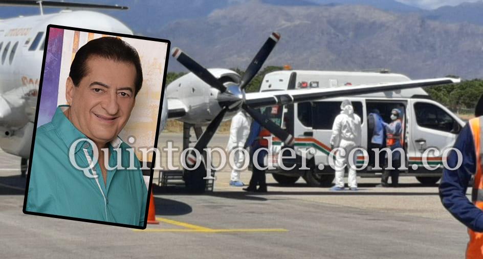 Jorge Oñate sigue complicado de salud y fue trasladado a hospital en Medellín