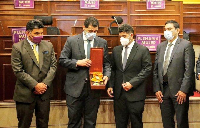 Congreso de la República rindió homenaje póstumo a Jorge Oñate