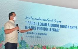 300 kilómetros de vías pavimentarán en el Cesar