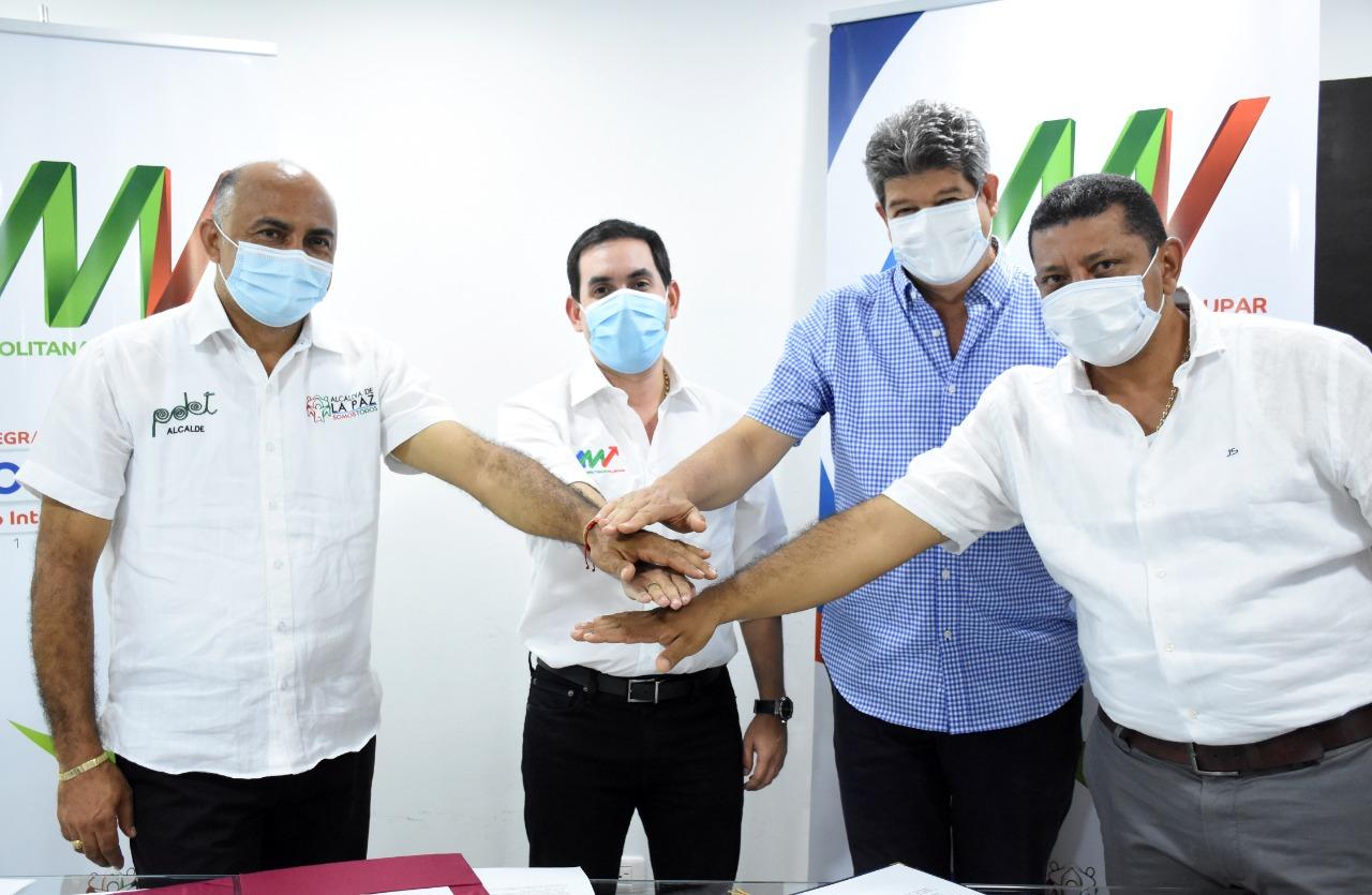 Área Metropolitana de Valledupar firmó 'Pacto Metropolitano' con las alcaldías de La Paz y Manaure
