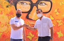 MinCultura  y Alcalde Mello Castro entregaron  murales en el Centro Histórico