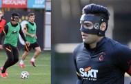 Falcao vuelve a prácticas con máscara tras sufrir fractura en la cara