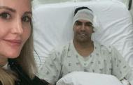 Falcao ya está en casa, tras cirugía por fractura facial