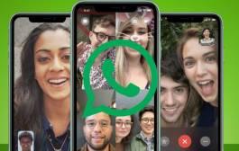 Ya puedes hacer videollamadas grupales por WhatsApp