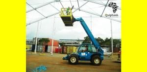 Telehandler crane
