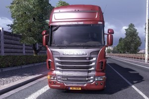 Scania Low Bed Truck