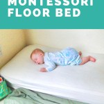 Sharing a Room with a Montessori Floor Bed