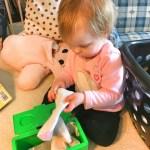 Reminder: A Toddler Helping You Isn't Helpful