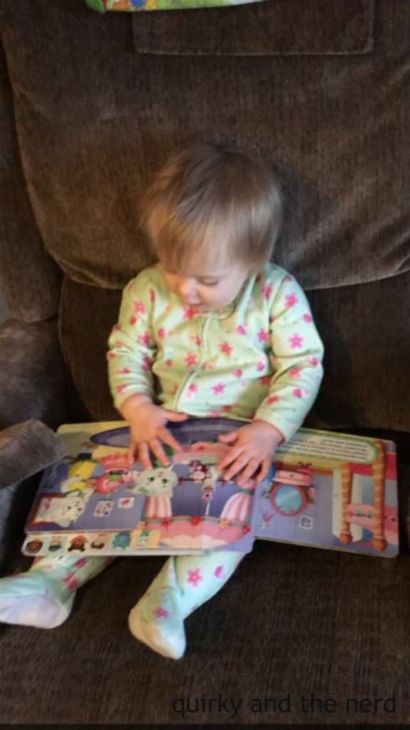 There are so many toddler books out there. But what is the best kind to give to a toddler? Read about two qualities toddler books should have. quirkyandthenerd.com