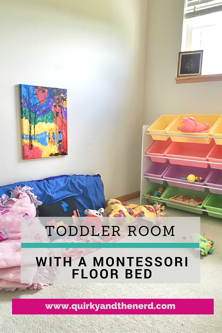 Montessori Toddler Floor Bed Room