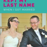 Why I Didn't Change My Last Name When I Got Married