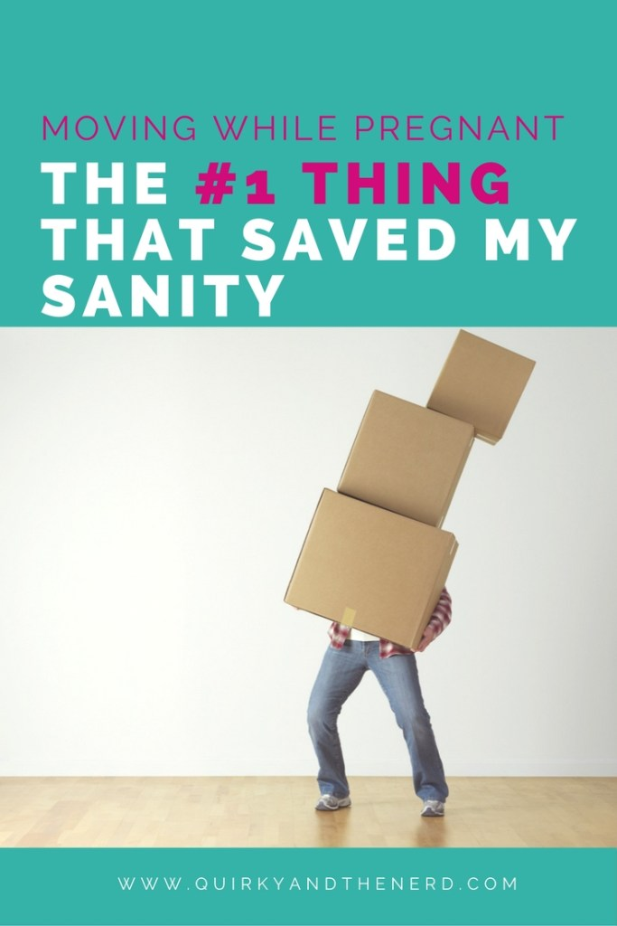 Moving while pregnant is hard, but I found one thing that saved my sanity. Read all about it in this post plus get some money saving tips. quirkyandthenerd.com