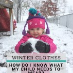 Dressing Your Child for Colder Weather